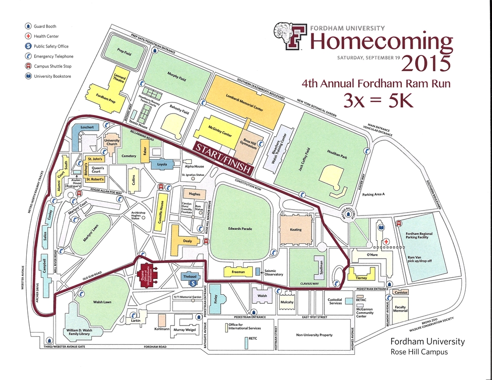 fordham university rose hill campus map Forever Fordham Form Driven Template fordham university rose hill campus map