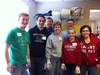 Alumni in Cincinnati, Ohio helped The Caring Place straighten and restock its pantry, clean, touch up paint and move shelves and furniture.