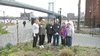 In New York City, alumni coordinated by Deb Coughlin '75 (second from left) helped restore East River Park to pre-Hurricane Sandy condition.