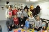 Volunteers at Mercy Hospice in Philadelphia organized the donation room, painted, assembled furniture and cleaned the facility, outdoor play area and garden.